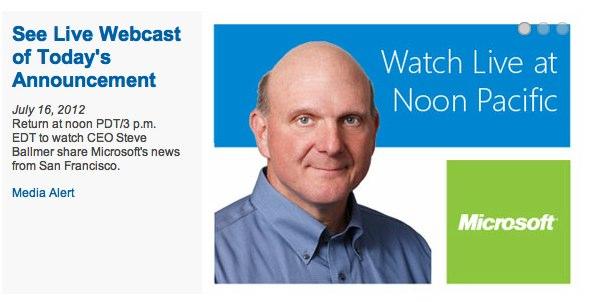 Microsoft zwołuje konferencję dziś o 21:00, ale nie ujawnia jej tematu