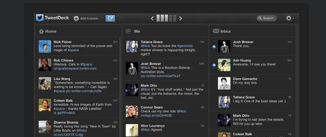 TweetDeck 1.5 jest już dostępny – Nowe spojrzenie na webową wersję Twittera