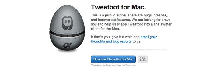 Jestem zawiedziony wczesną wersją aplikacji Tweetbot na Maka