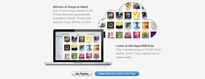 iTunes Match dostępne w Polsce – za 25 euro rocznie Apple pozwoli Ci zalegalizować piracką muzykę