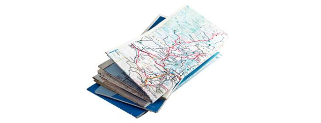 Drukowane mapy mają się dobrze, nawigacje GPS tylko trochę im zaszkodziły