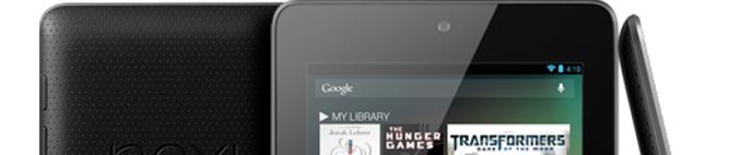 Tablet Nexus 16GB wraca do sklepu Play