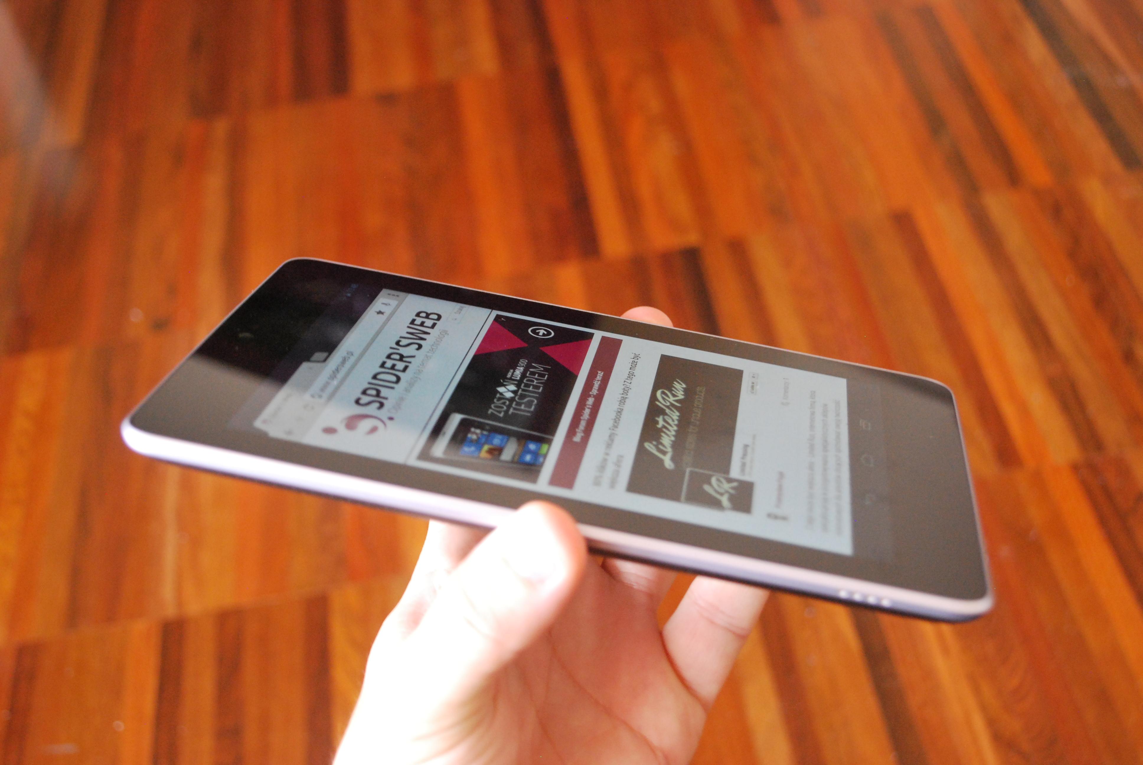 Nexus 7 najszybszym tabletem z Androidem. Wszystko dzięki podkręcaniu