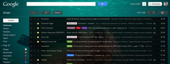 Gmail w końcu może być naprawdę ładny