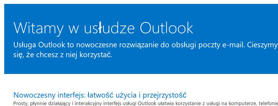 Żegnaj Hotmailu, witaj… Outlooku, i to cały Metro