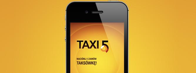 Aplikacja Taxi5 wreszcie dostępna na iPhone