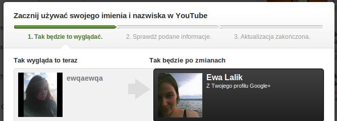 Na YouTube z imienia i nazwiska. Za coraz większy brak anonimowości dziękuję chamom