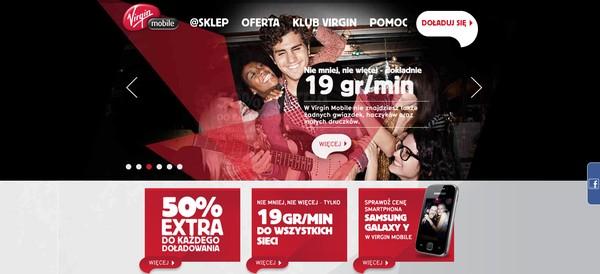 Ruszyła strona oraz fanpage Virgin Mobile Polska