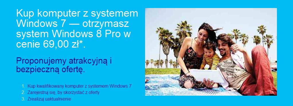 Zaktualizuj swój komputer do Windows 8 Pro za 69 zł – rusza rejestracja w programie Microsoftu