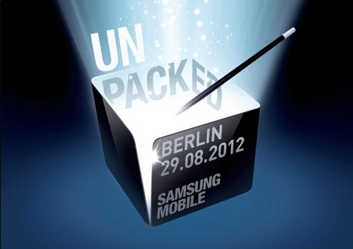 Samsung Mobile Unpacked 2012 – 29.08