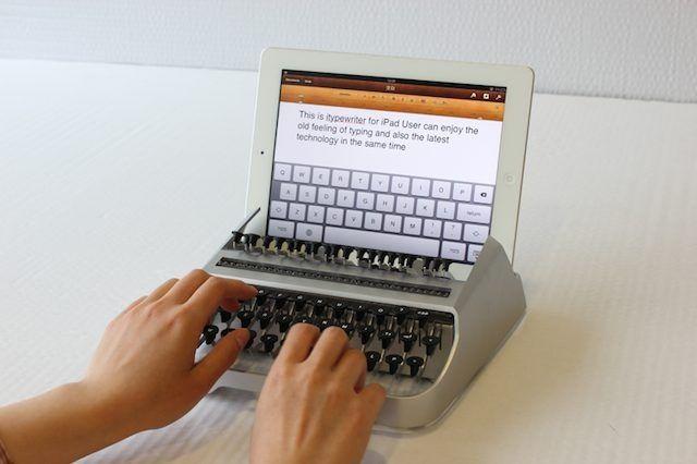 Najdziwniejsza klawiatura do iPada – oto iTypewriter