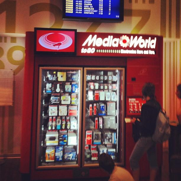 Najmniejszy na świecie MediaMarkt i inne niecodzienne automaty