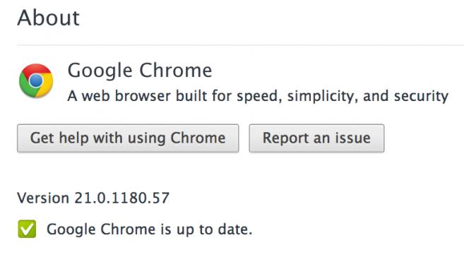 21. wersja Chrome i jej nowości