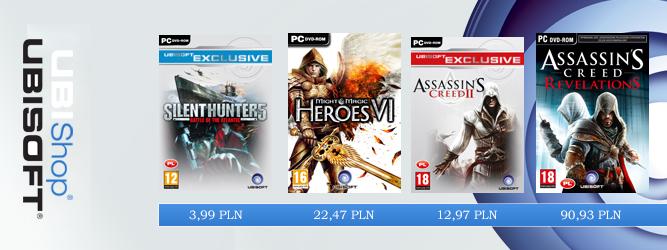 Gigantyczne promocje w sklepie Ubisoftu – zagraj już za 3,99 PLN