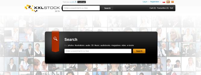 XXLStock.com – pierwszy polski serwis stock plików. Ma szansę zdobyć popularność?