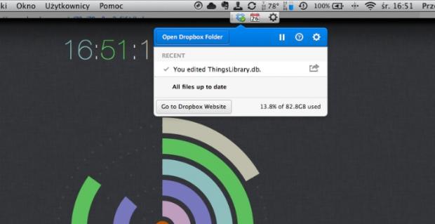 Klient Dropboxa dla komputerów wprowadza zupełnie nowe podręczne menu