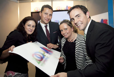 Student team Zooplar from from UCC  scoops two awards at the Enterprise Irelandís Think Outside the Box Awards 2012