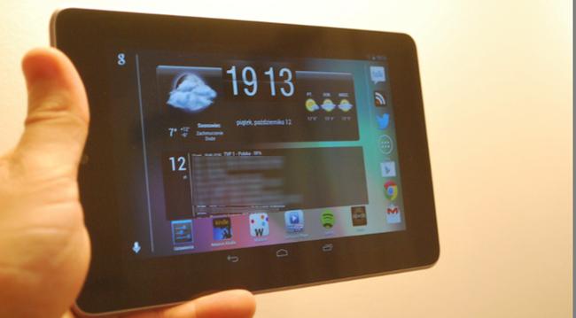 Nexus 7, rysik i trzy aplikacje – połączenie idealne