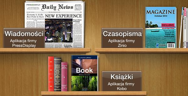 Zamień urządzenie z Androidem w czytnik książek i prasy
