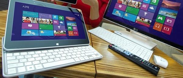 Jak nie Microsoft Surface to może hybrydowy slider od LG?