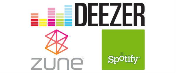 Szykuje się prawdziwa muzyczna wojna – Deezer vs Spotify vs Zune Music Pass (Xbox Music)