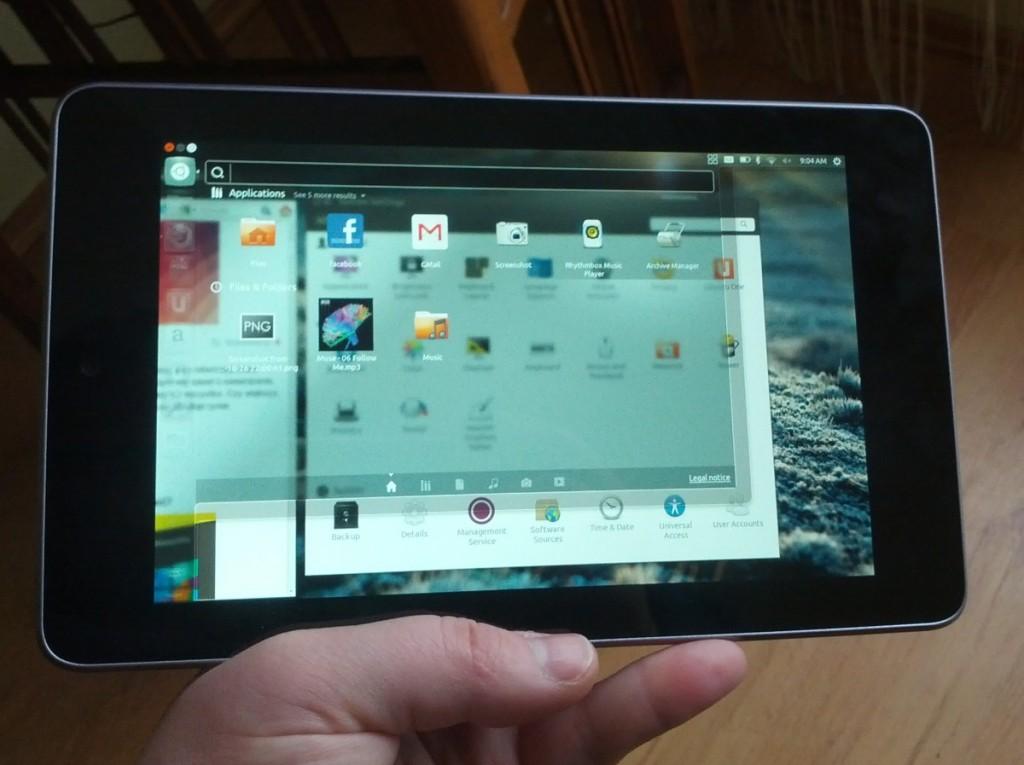 ubuntu on nexus 7 3