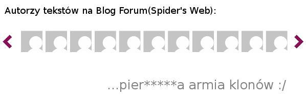 Armia Klonów Spider's Web