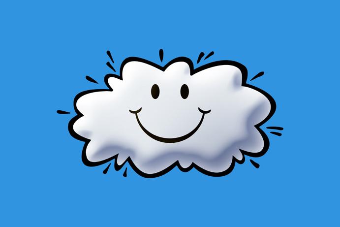 Chmura chmurze nierówna