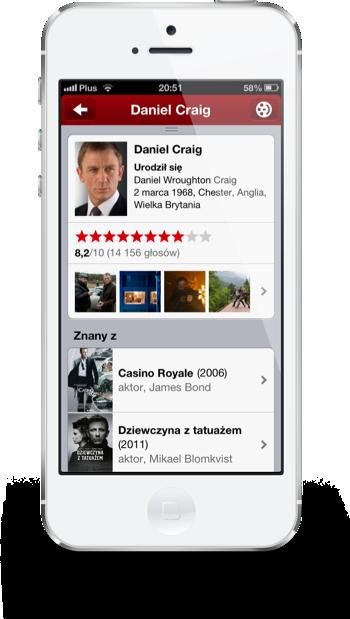 Filmweb iPhone aktor