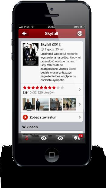 Filmweb iPhone film