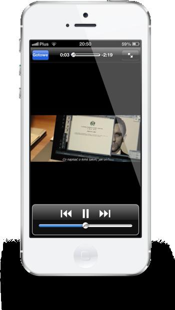 Filmweb iPhone zwiastun
