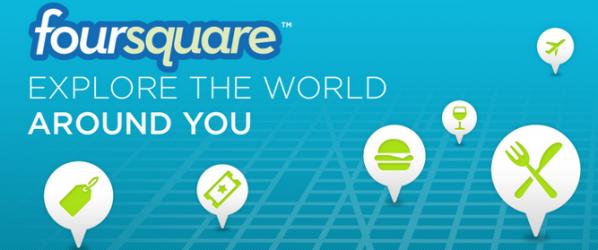 Zobacz jak wygląda 500 milionów zameldowań na Foursquarze