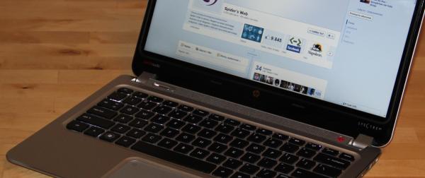 Ultrabook HP ENVY Spectre XT – Recenzja Spider's Web