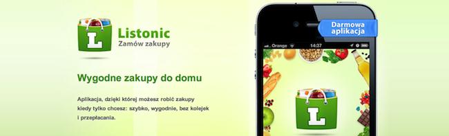 Teraz z Listoniciem zrobisz zakupy spożywcze na swoim smartfonie!