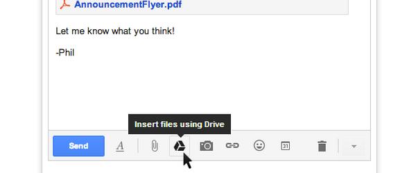 Gmail nareszcie z możliwością załączania plików z Dysku Google