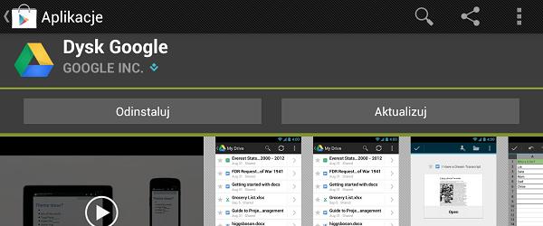 Kolejne nowości w Dysku Google, tym razem na Androidzie