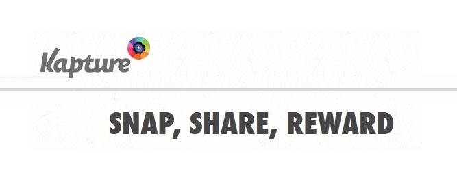 Kapture – realne korzyści za zdjęcia udostępniane na portalach społecznościowych