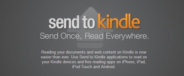 Wysyłanie treści na czytnik Kindle z komputera, przeglądarki i smartfona