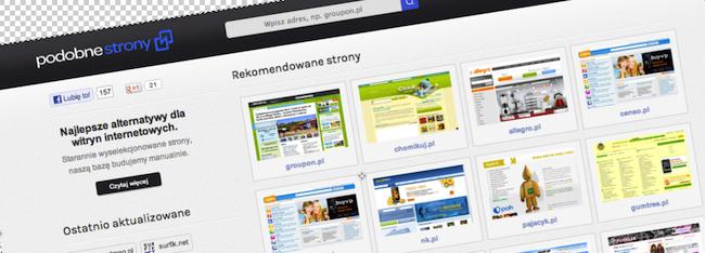 Podobnestrony.pl – ciekawy projekt oparty na prostym pomyśle