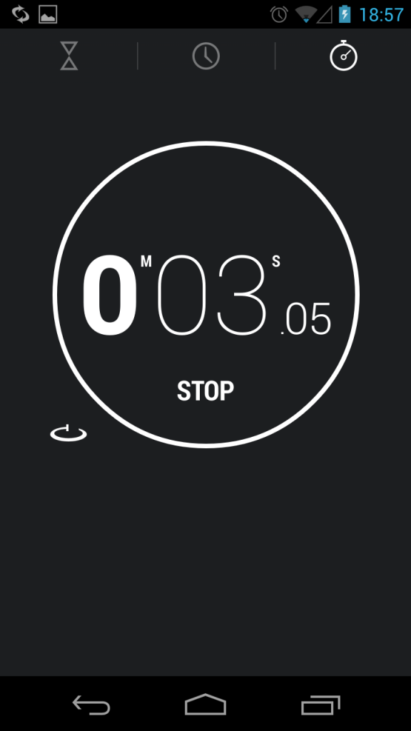 stoper android 4.2