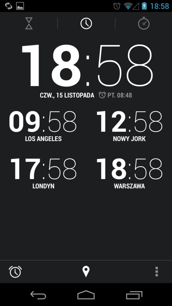 zegar android 4.2