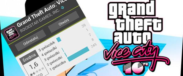 AKTUALIZACJA: Spóźniony Mikołaj trafił w końcu do Google Play. Grand Theft Auto: Vice City jest i nawet działa