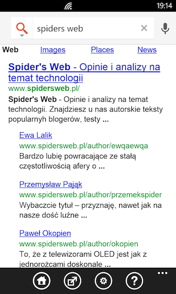 Google Search Windows Phone 2