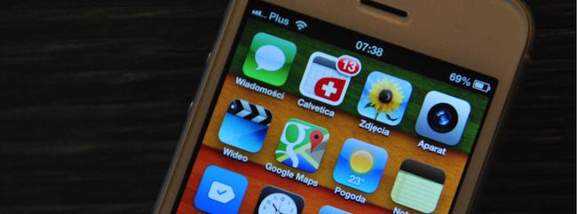 W wyglądzie interfejsów Apple'a wieje nudą