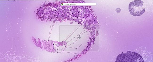 Spider's Web z oficjalnym motywem przeglądarki Opera!