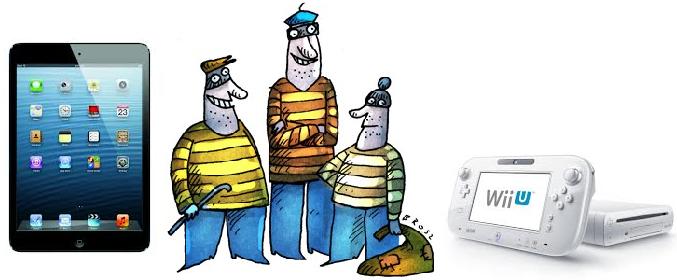 Kradzione iPady i Wii U na rynku. Co zrobić, gdy nieświadomie je zakupisz?