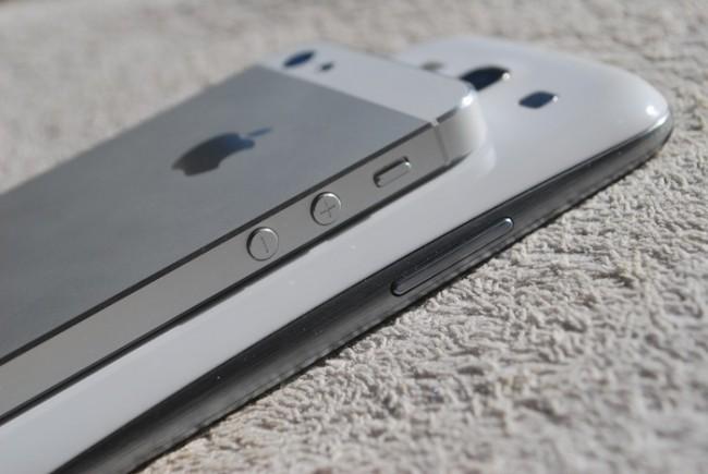 iPhone 5 vs. Samsung Galaxy S III, g