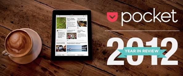 """Z Pocketa korzystamy jak szaleni. Ponad 240 milionów treści zapisaliśmy """"na później"""" w 2012 roku"""