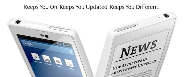 Smartfon z dwoma ekranami. YotaPhone, czyli LCD i eINK w jednym