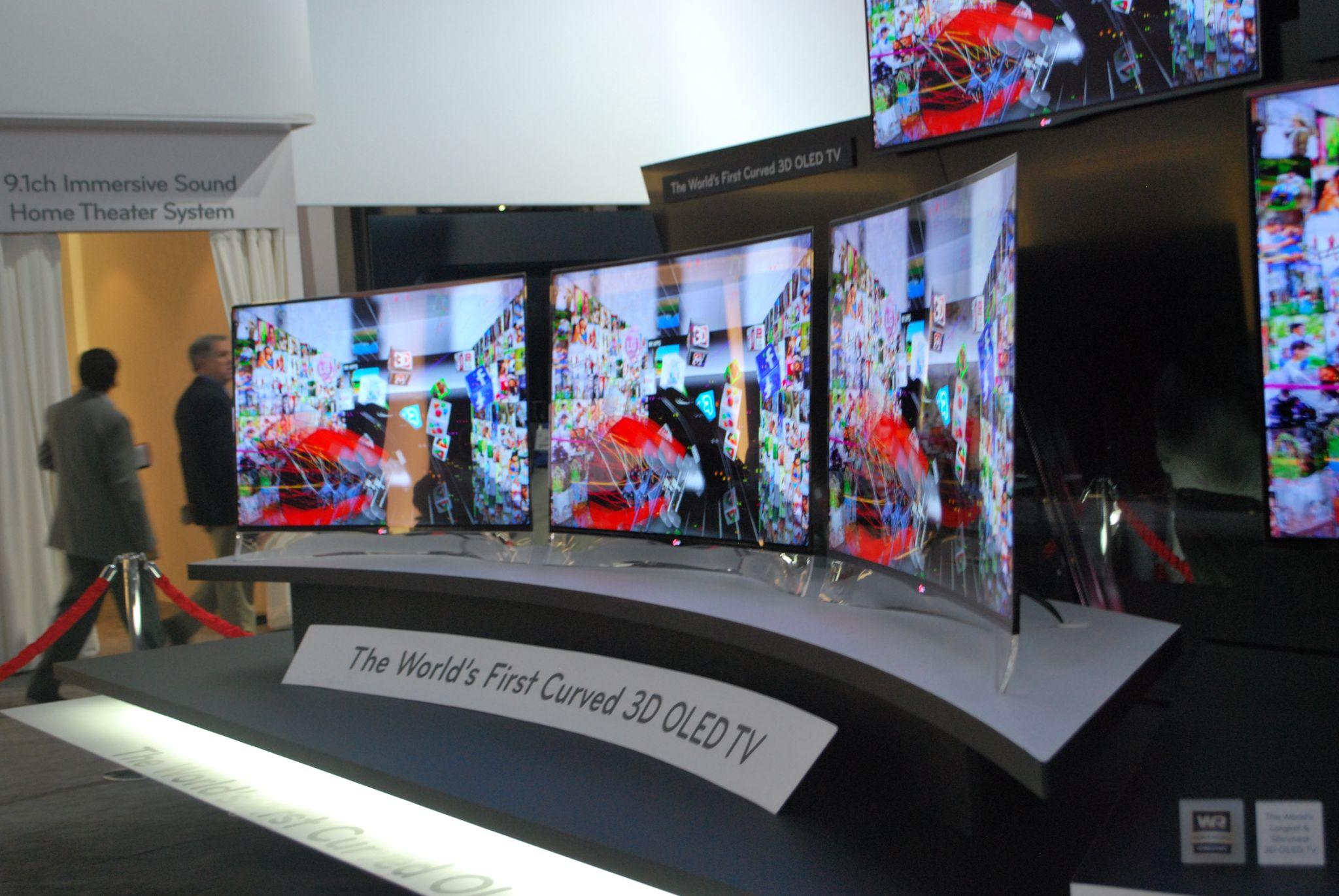 CES 2013: Czy jesteś gotowy na… zakrzywiony ekran telewizora?